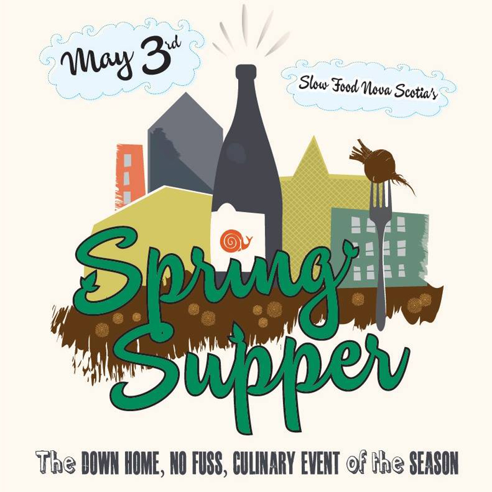 slow food spring supper